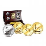 Investment Gabun Springbok 2012  Gold  65th Anniversary...