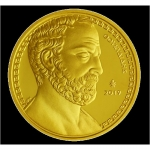 Greece 200 Euro Gold 2019 Thukydides Proof