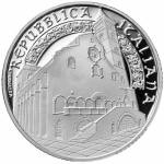 Italy 10 EURO Trani Cathedral  Silver Proof 2018