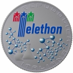 Italy 5 EURO 2020 30th Anniversary of Telethon Coloured