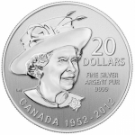 2012 $20 for $20 Diamond Jubilee - Pure Silver Coin
