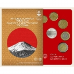 Coinset Olympic Games in Tokyo 2020 Proof