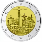 Lithuania 2 Euro Mountain of the Cross 2020 bfr