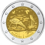 Lithuania 2 Euro Biosphere Reserve of Ouvintas 2021 bfr