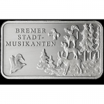 Fairy tales - Silver Bars Bremen Town Musicians 999,99...