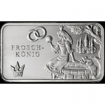 Fairy tales - Silver Bars The Frog Prince 999,99 Mint Berlin