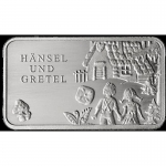 Fairy tales - Silver Bars Hansel and Gretel 999,99 Mint...