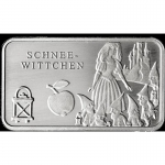 Fairy tales - Silver Bars Snow White 999,99 Mint Berlin