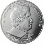 Monaco 10 Euro 2012 Honore II of MOnaco Proof