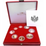 Monaco Coinset 2006 Proof in Box verry rare