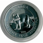 Capsule for 1,5 Oz Silver for Arctic Fox Series 38,4 mm