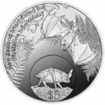 2013 New Zealand Annual Coin: Short-tailed Bat Silver...