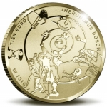 Netherlands 10 Euro Gold 2016 Hieronymus Bosch Proof