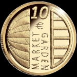Netherlands 10 Euro Gold 2019 Market Garden Proof