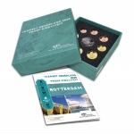 Netherlands 2020 BU-Coinset Rotterdam Proof