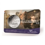 Netherlands 5 Euro 2020 Woudagemaal  Unc  in  Coincard