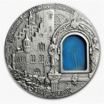 2012 Niue 2 oz Silver Crystal Art - Secrets of...