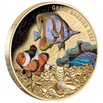Niue 2020 $100 Great Barrier Reef 1oz Gold Proof with...