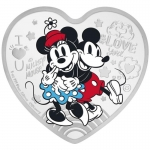 Niue Island 2 Dollar 2020 Disney - True Love Herzform 1...