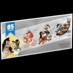 Niue Islands 1 Dollar Donald Duck 85th Anniversary 5g...