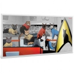 Niue Islands 1 Dollar Star Trek Cats 5 g Silber...
