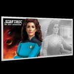 2019 Star Trek The Next Generation Deanna Troi 5g Silver...