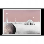 Niue Islands 1 Dollar Star Wars Worlds Tatooine 5 g...