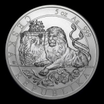 Niue Islands 10 Dollar Czech Lion - Tschechischer...