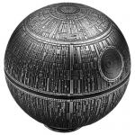 Niue Islands 100 Dollar Todesstern Star Wars 1 Kilo...
