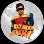 Niue Islands 2 Dollar Batman 66 Series - Robin  1 Unze...