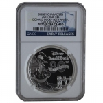 Niue Islands 2 Dollar Disney - 80 Jahre Donald Duck, 1...