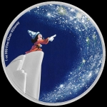 2020 Niue Disney Fantasia 80th Anniversary - The Sorcerer?s Apprentice 1oz Silver Coin
