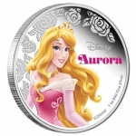 Niue $1 Disney Princess - Aurora Sleeping Beauty 1oz Silver Proof