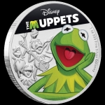 2019 Niue Disney - The Muppets - Kermit The Frog 1oz...