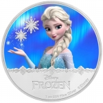 Niue $1 Disney Frozen - Elsa 1oz Silver Proof 2016