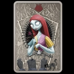 Niue Islands 2 Dollar Disney The Nightmare before Christmas  Sally 2021,  1 Oz Silver