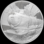 Niue Islands 2 Dollar Harry Potter - Hogwarts Express 1...