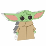 Niue Islands 2 Dollar Star Wars Chibi Coins - The Child -...