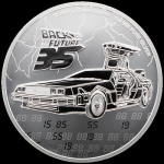 2020 Niue Back to the Future 35th Anniversary 1 Oz Silver