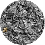 Niue 2020 $5 DUOWENTIAN Four Heavenly Kings 2 Oz Silver...