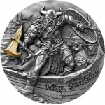 Niue 2020 $5 ERIC BLOODAXE Vikings Ultra High Relief AF Proof