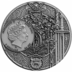 Niue Islands 2020 5 Dollar 2 Oz Silber SWORD OF DESTINY...