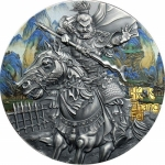 Niue 2020 $5 Zhang Fei Warriors of Ancient China Gold...