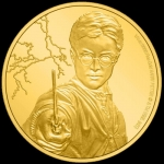 Niue Islands 25 $ - 1/4 Oz Gold Harry Potter Harry Potter...