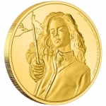 Niue Islands 25 $ - 1/4 Oz Gold Harry Potter Hermine...