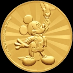 Niue Islands 25 $ - 1/4 Oz Gold Mickey Mouse?  90....