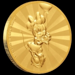 2019 $25  Mickey Mouse? - 1/4 OZ Minnie Mouse? &...