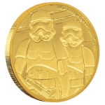 2019 $25  Stormtrooper?  Star Wars Classics - 1/4 Oz Gold...