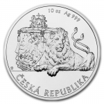 Niue Islands 25 Dollar Czech Lion - Tschechischer...