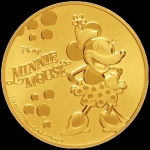 Niue Disney: Minnie Mouse Classic 1/4 Oz Gold Coin 2019
